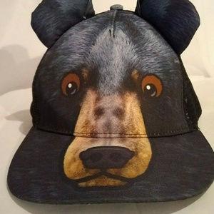 Bear Hat - Baseball Cap - 3D Bear Ears